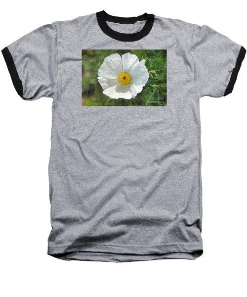 White Thistle Baseball T-Shirt