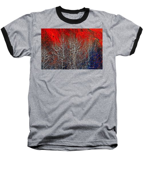 White Trees Baseball T-Shirt