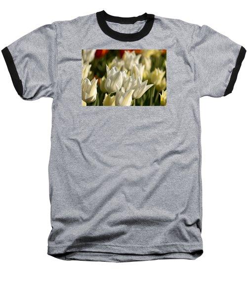 White Triumphator Baseball T-Shirt