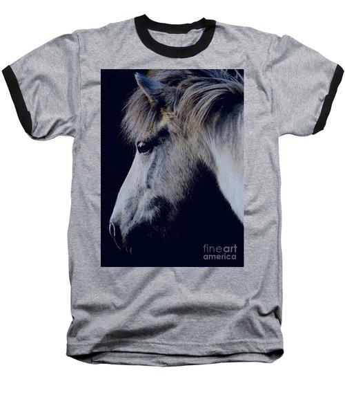 White Viking  Baseball T-Shirt