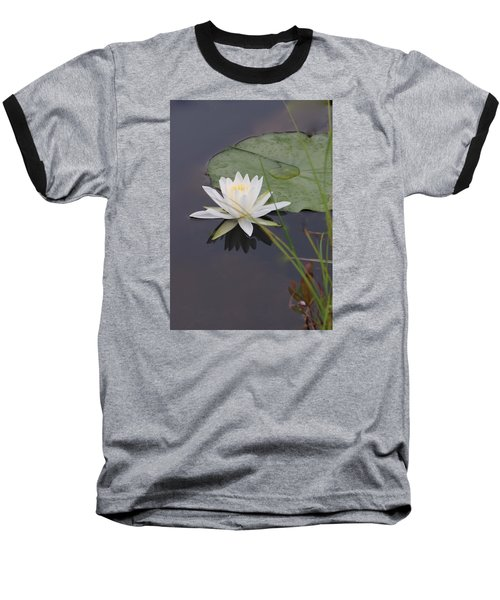 White Water Lotus Baseball T-Shirt