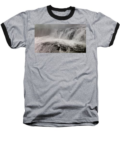 Baseball T-Shirt featuring the photograph White Water by Raymond Earley