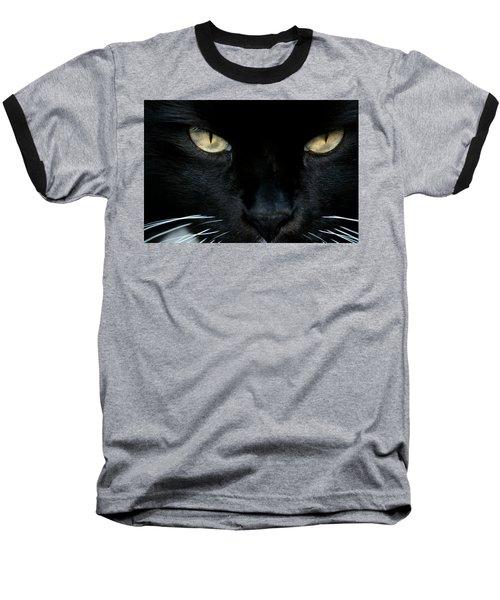 White Whiskers Baseball T-Shirt