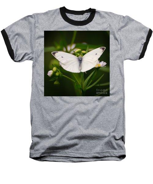 White Wings Of Wonder Baseball T-Shirt