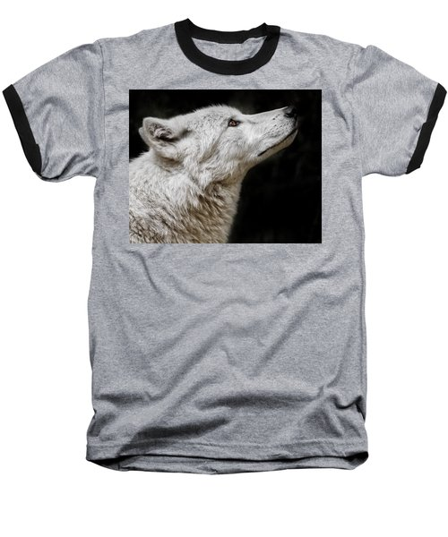 White Wolf Baseball T-Shirt