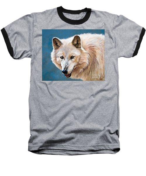 White Wolf Baseball T-Shirt