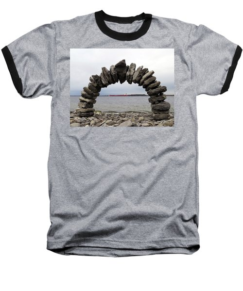 Whitefish Bay Under The Arch Baseball T-Shirt