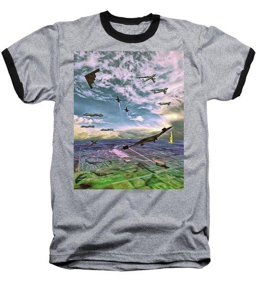 Whiteman Air Force Base Baseball T-Shirt