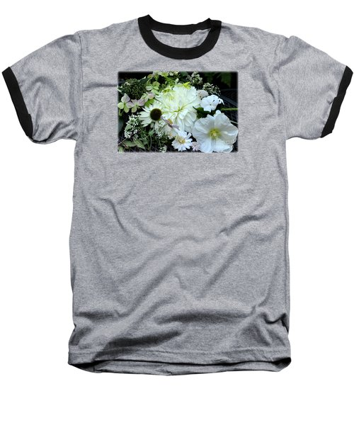 Baseball T-Shirt featuring the photograph Whites And Pastels by Tanya Searcy