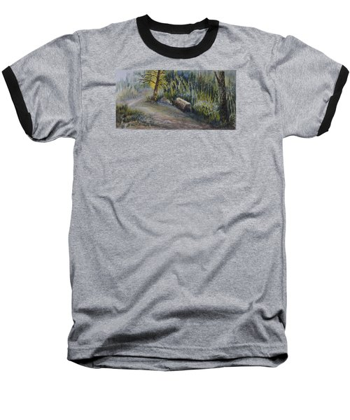 Whiteshell Trail Baseball T-Shirt by Joanne Smoley