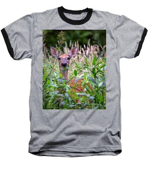 Whitetail Doe Baseball T-Shirt