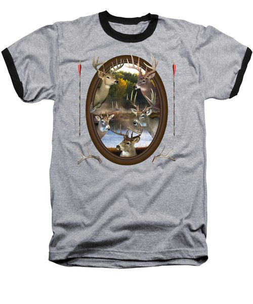 Whitetail Dreams Baseball T-Shirt