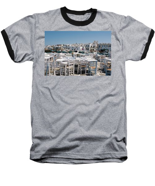 Whitewashed Naoussa Baseball T-Shirt