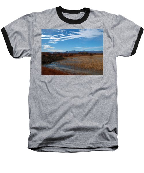 Baseball T-Shirt featuring the photograph Whitewater Draw by James Peterson