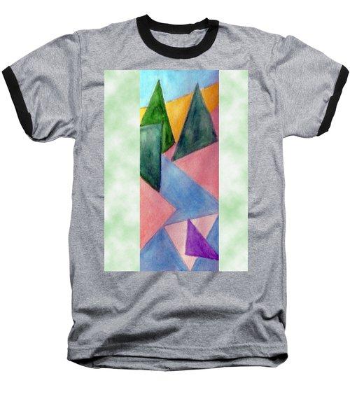 Whitewater Raft Baseball T-Shirt