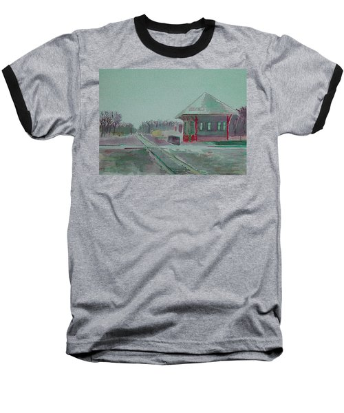 Whitewater Rail Station Baseball T-Shirt