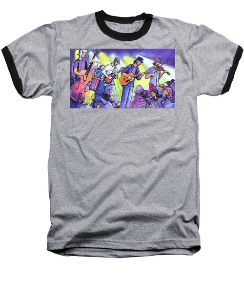 Whitewater Ramble At The Barkley Ballroom Baseball T-Shirt by David Sockrider