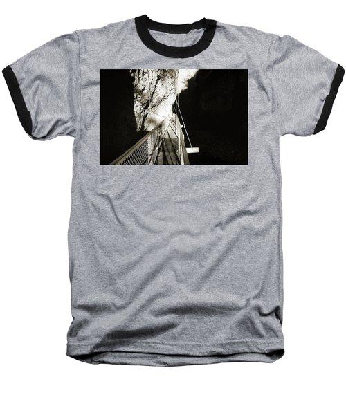 Whitewater Walk Baseball T-Shirt by Jan W Faul