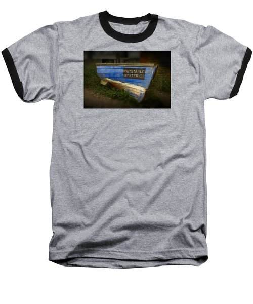 Whitstable Oysters Baseball T-Shirt by David French