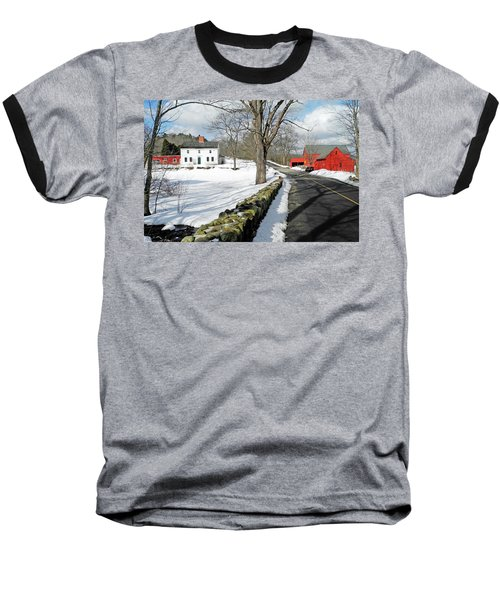 Whittier Birthplace Baseball T-Shirt