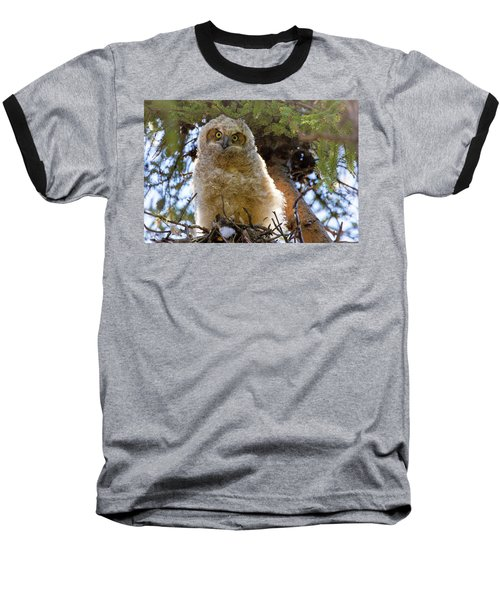 Who Are You Baseball T-Shirt