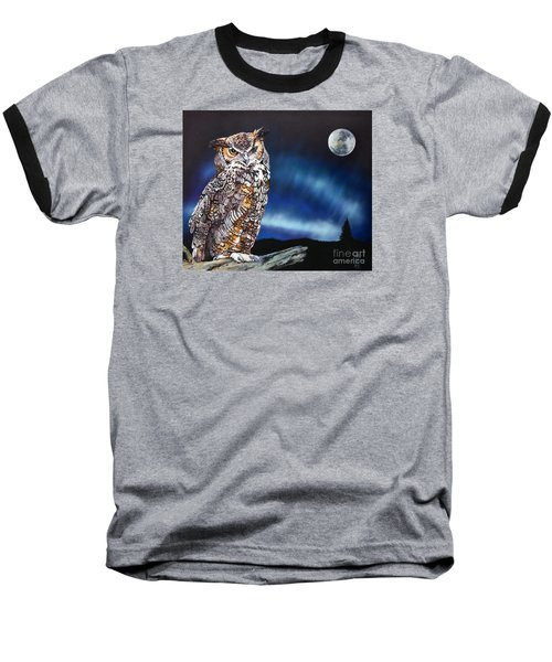 Who Doesn't Love The Night Baseball T-Shirt by J W Baker