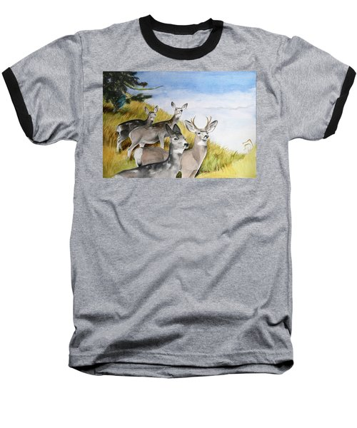 Who Goes There Baseball T-Shirt