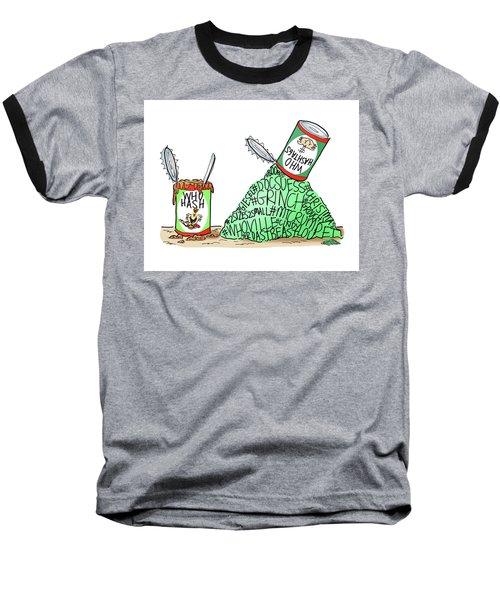 Who Hashtags Baseball T-Shirt