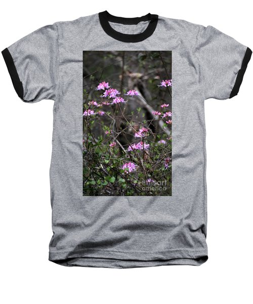 Baseball T-Shirt featuring the photograph Who Put The Wild In Wildflowers by Skip Willits