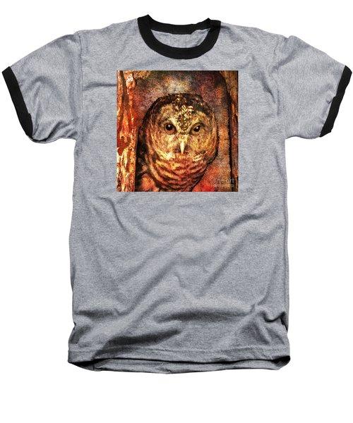 Who Whoo Yoo 2015 Baseball T-Shirt