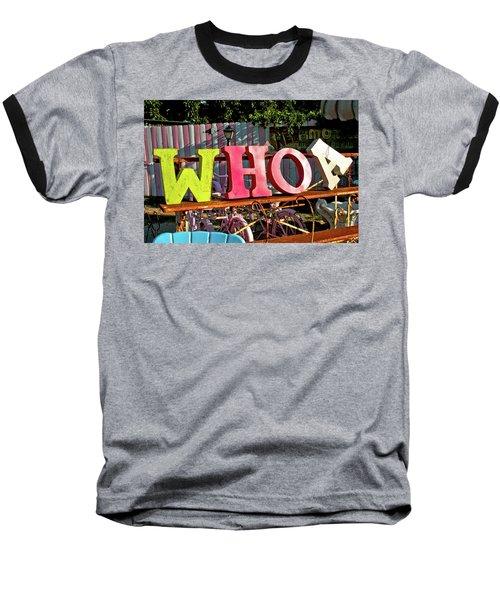 Whoa Baseball T-Shirt