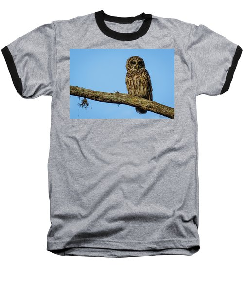 Whooo Baseball T-Shirt