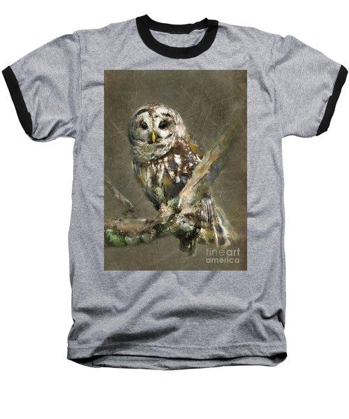 Whoooo Baseball T-Shirt