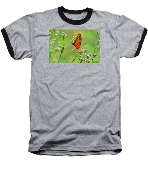 Baseball T-Shirt featuring the photograph Whoops by Kathy Gibbons