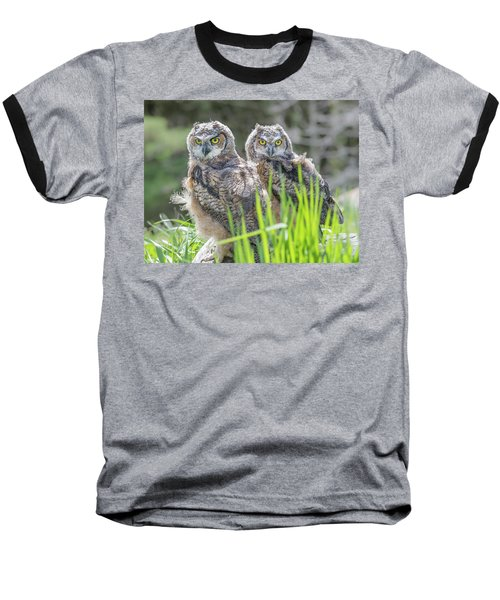 Whoos Watching Me Baseball T-Shirt