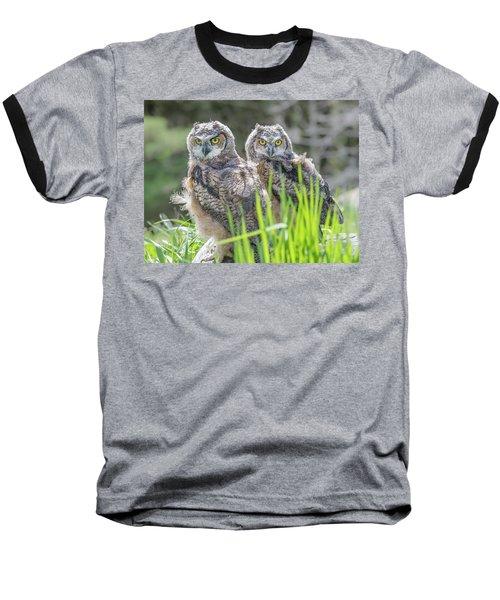 Whoos Watching Me Baseball T-Shirt