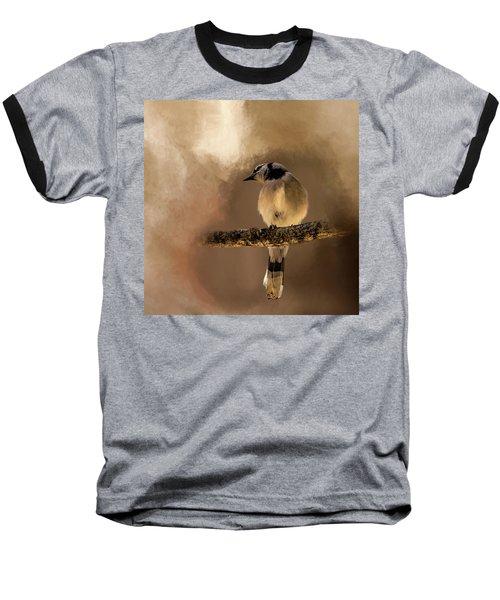 Who's There? Baseball T-Shirt by Cyndy Doty