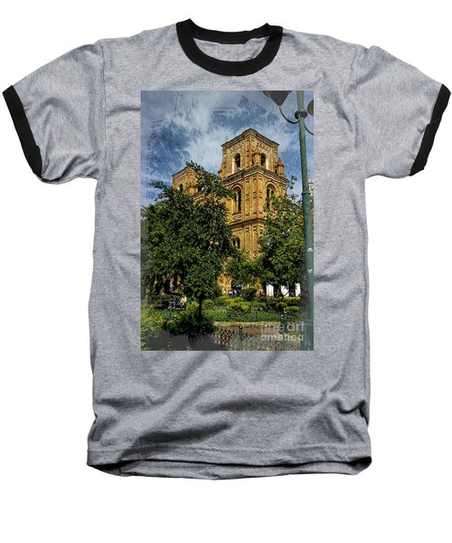 Baseball T-Shirt featuring the photograph Why Do I Live Here? II by Al Bourassa