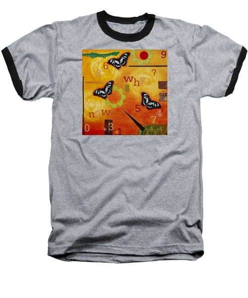 Why Baseball T-Shirt by Gloria Rothrock