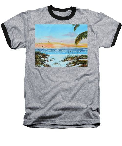 Why Not Siesta Key Baseball T-Shirt