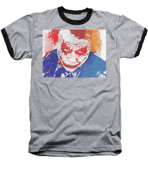 Why So Serious Baseball T-Shirt by Dan Sproul