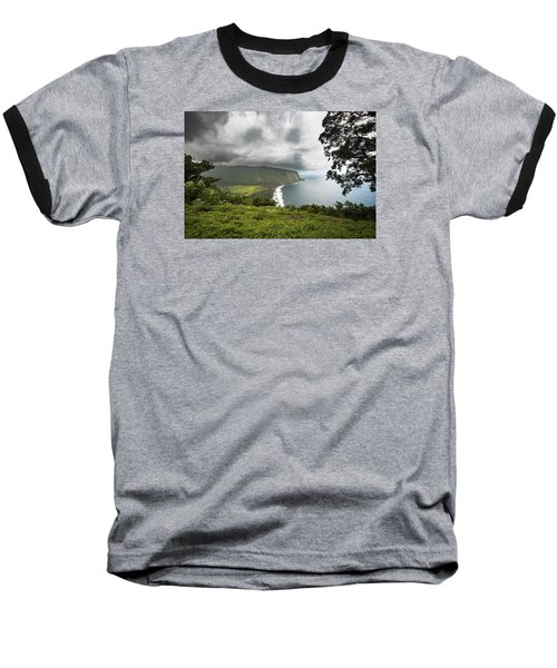 Wiapio Valley Baseball T-Shirt by Allen Biedrzycki