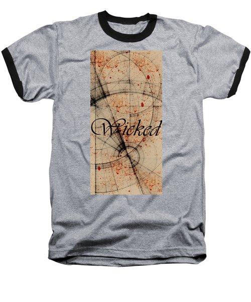 Wicked Baseball T-Shirt by Cynthia Powell