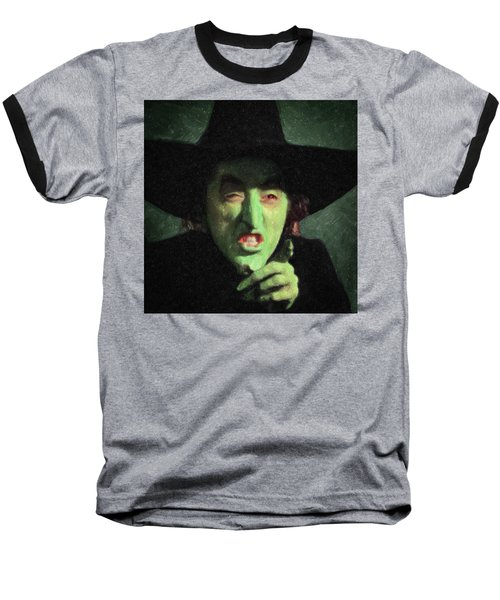 Wicked Witch Of The East Baseball T-Shirt by Taylan Apukovska