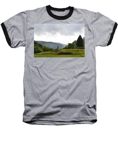 Baseball T-Shirt featuring the photograph Wicklow Mountains by Terence Davis