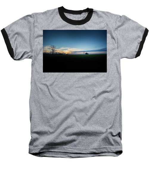 Baseball T-Shirt featuring the photograph Wide Open Spaces by Shane Holsclaw