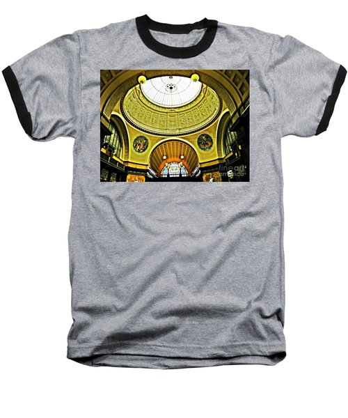 Wiesbaden Casino Baseball T-Shirt by Sarah Loft