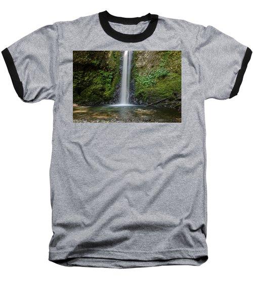 Baseball T-Shirt featuring the photograph Wiesendanger Falls No.1 by Margaret Pitcher