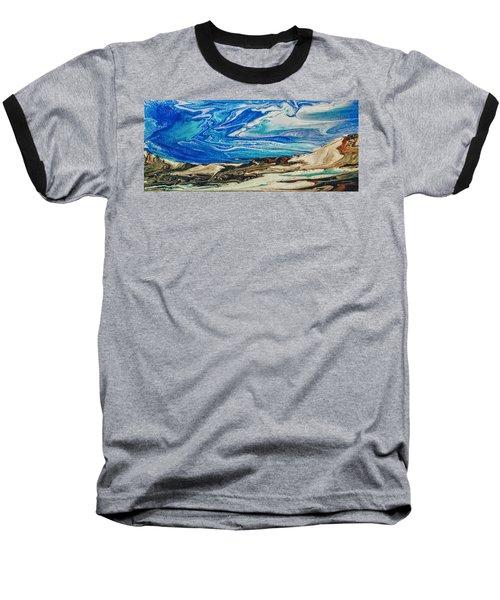 Wiinter At The Beach Baseball T-Shirt