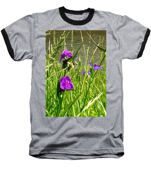 Wild About Violet Baseball T-Shirt